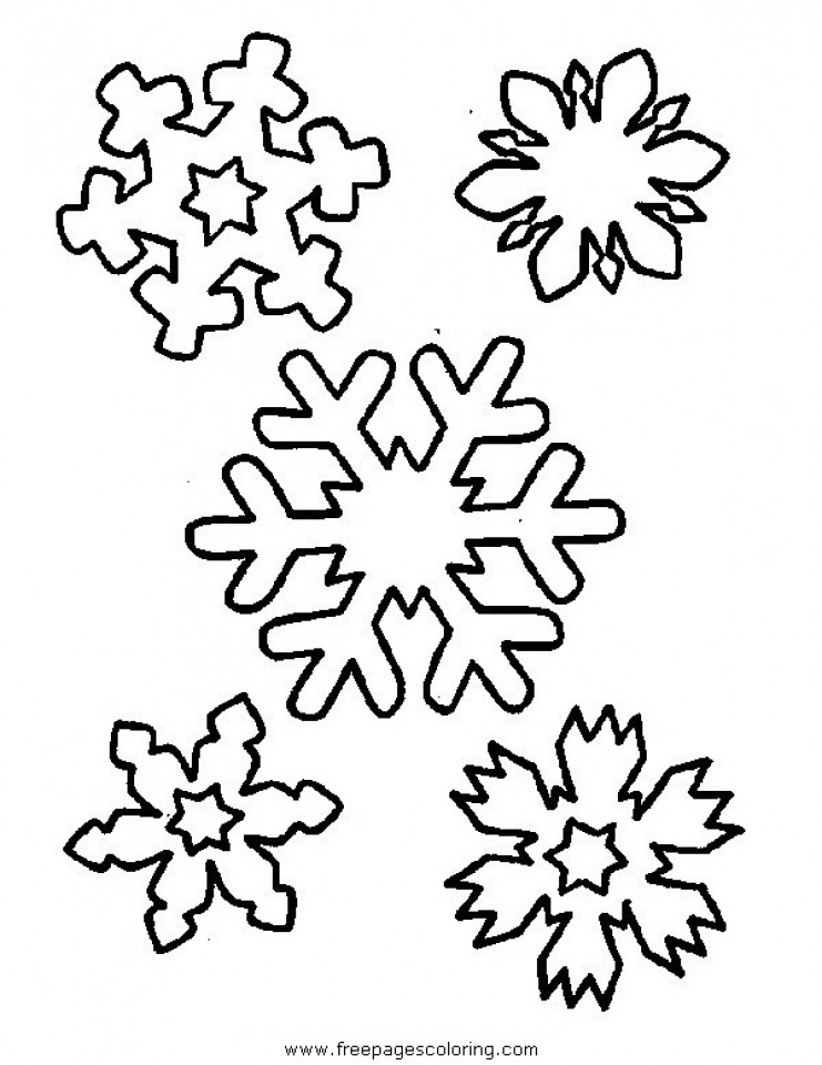 741x960 Get This Free Snowflake Coloring Pages To Print Out Unusual