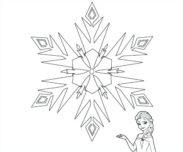 600x500 Printable Snowflake Coloring Pages Printable Snowflake Coloring