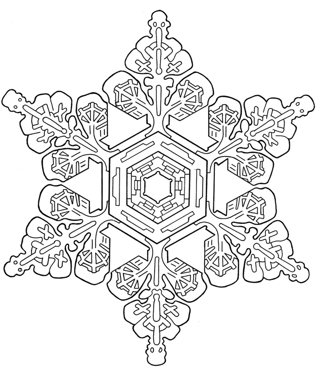 650x765 Snowflake Mandala Coloring Pages Coloring For Kids Snowflake