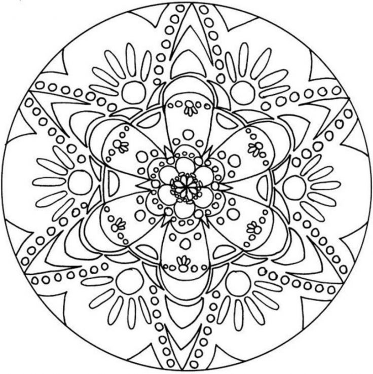 Snowflakes Coloring Pages Free Printable at GetDrawings.com ...
