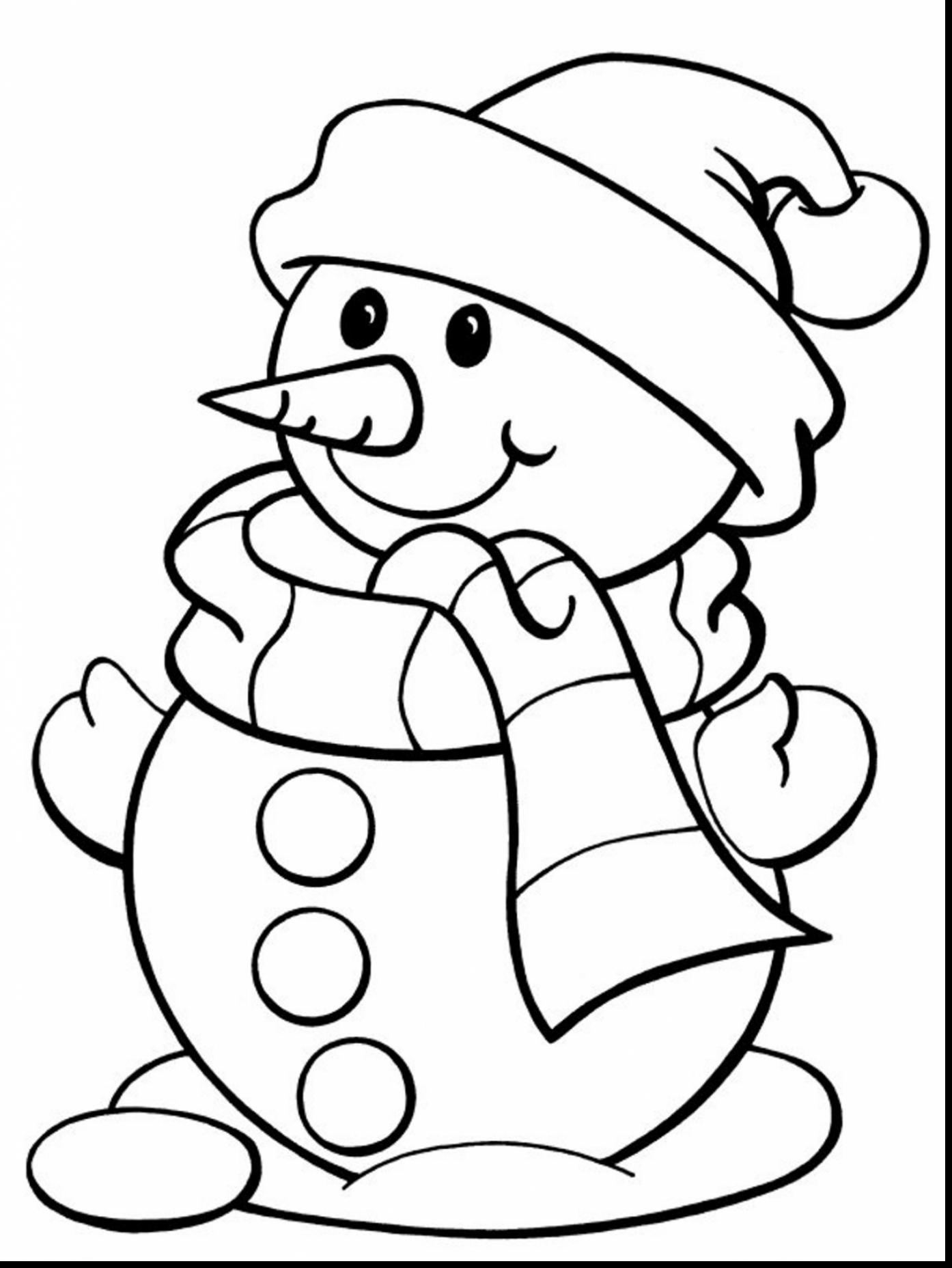 1394x1856 Fresh Outstanding Printable Snowman Coloring Pages With Winter