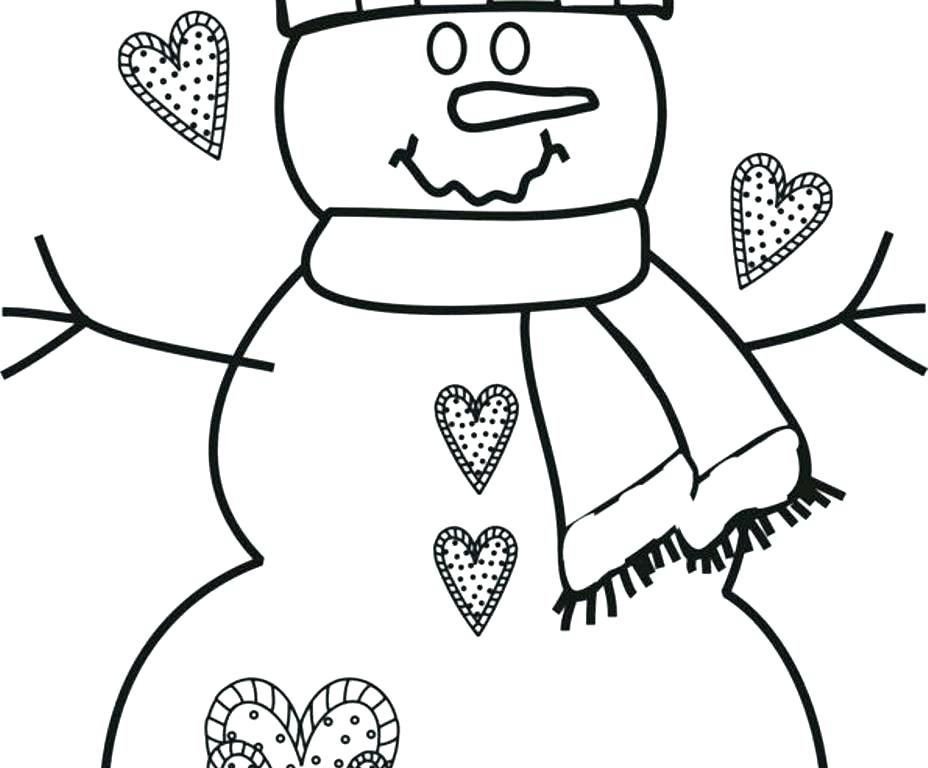 928x768 Coloring Page Snowman My Snowman Coloring Page Coloring Book Pages