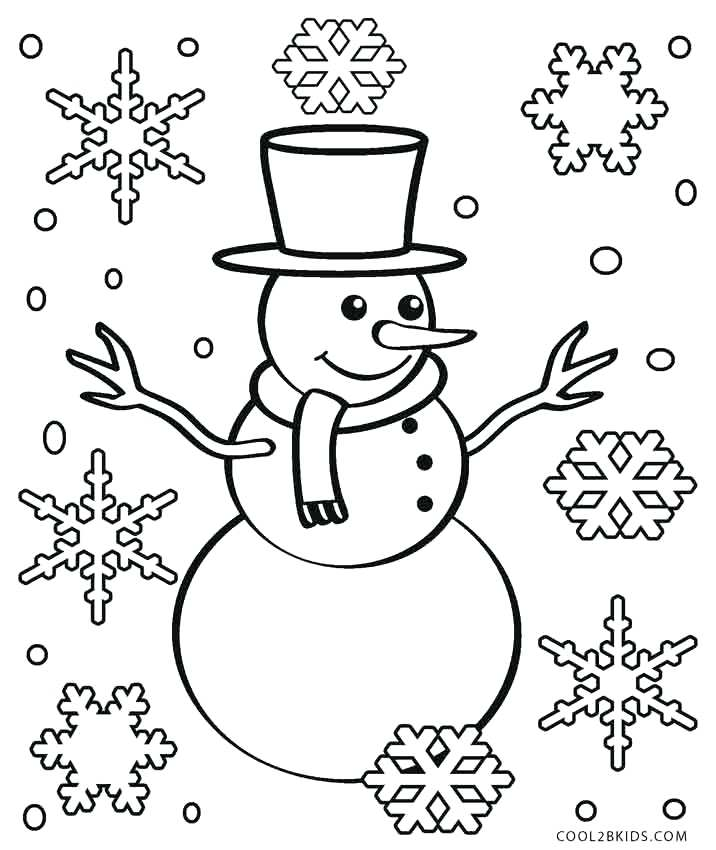 716x850 Remarkable Free Printable Snowman Coloring Pages Startling