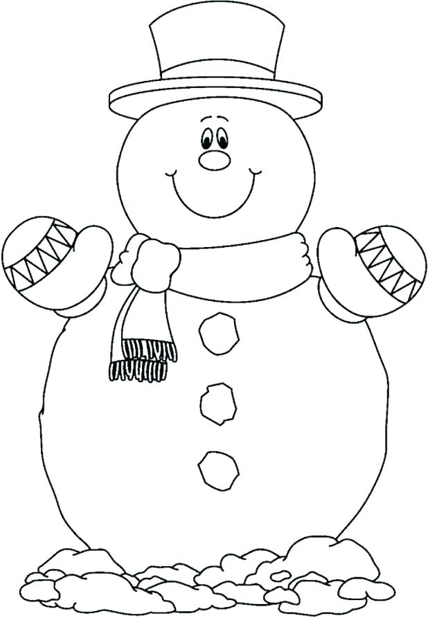 618x893 Snowman Coloring Page Hello Kitty Coloring Pages For Kids Hello