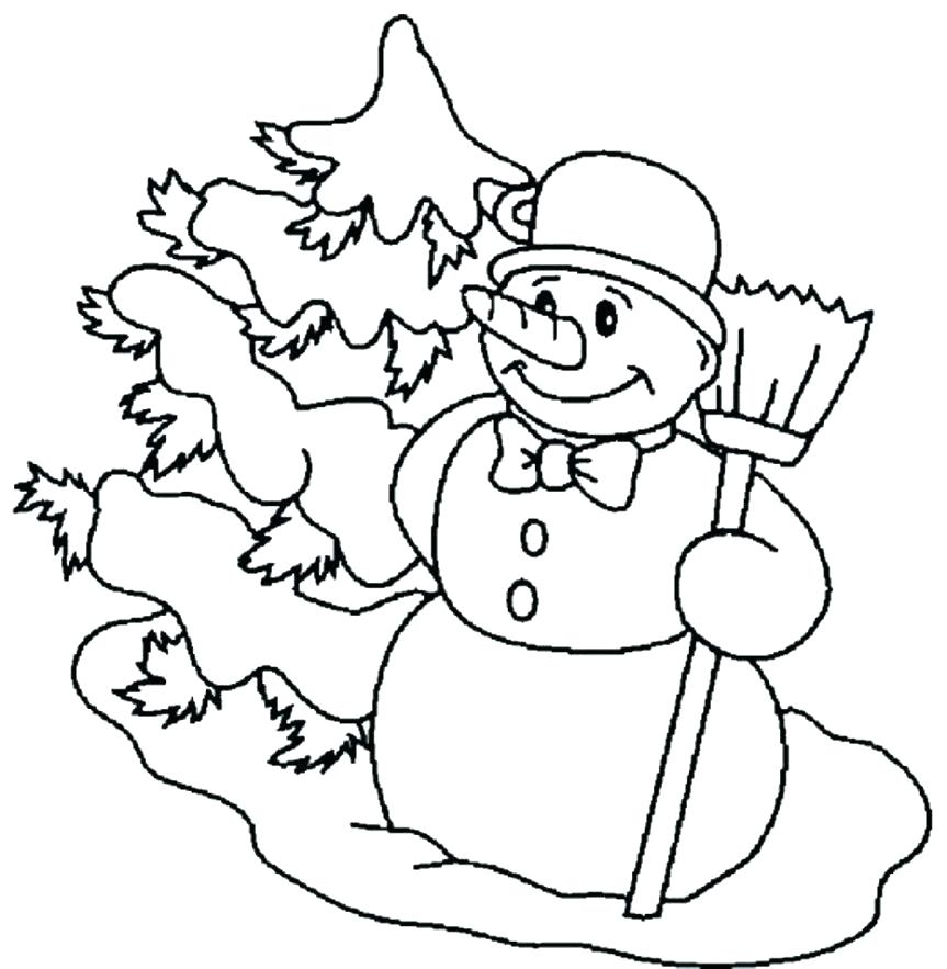 863x883 Free Printable Snowman Coloring Pages Free Printable Snowman