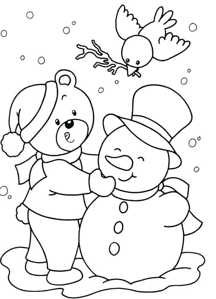 739x1024 Free Printable Winter Coloring Pages Together With Coloring Pages