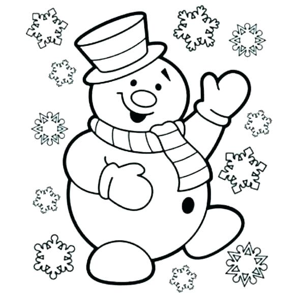 580x580 Snowman Coloring Page Frosty The Snowman Coloring Book Snowman