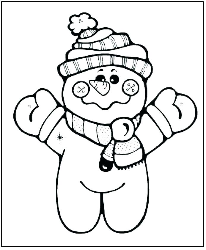 693x841 Color Pages Free Free Printable Pages Free Printable Snowman