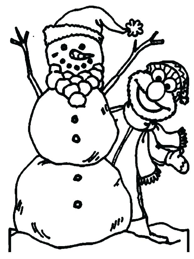 618x824 Coloring Pages Snowman Snowman Coloring Pages Free Free Snowman