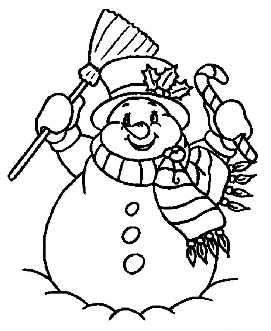 900x1096 Free Printable Christmas Snowman Coloring Pages