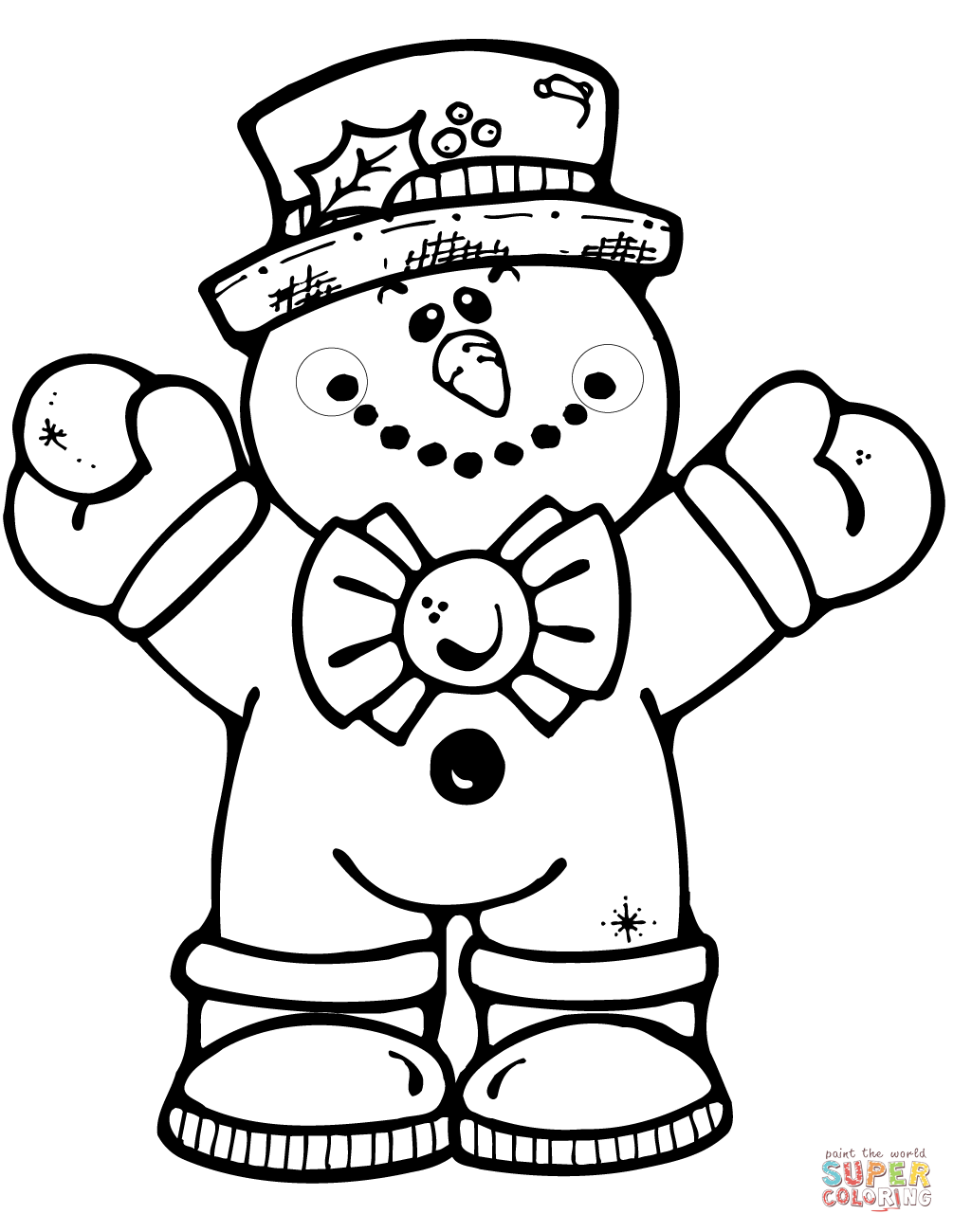 1005x1300 Free Printable Snowman Coloring Pages