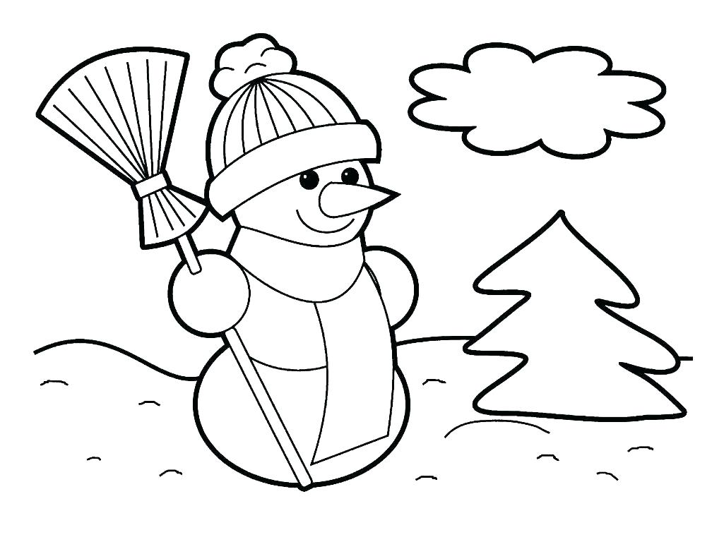 1008x768 Frosty The Snowman Printable Coloring Pages Frosty Color Snowman