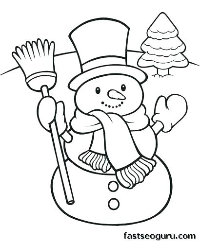 410x500 Coloring Book Pages Snowman Coloring Page Of Snowman Abominable