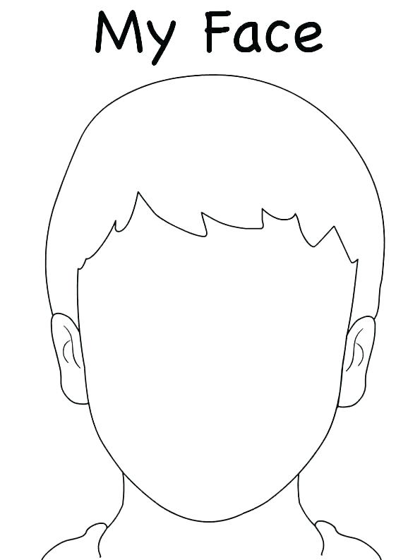 595x793 Girl Face Coloring Pages Blank Face Coloring Page Snowman Face