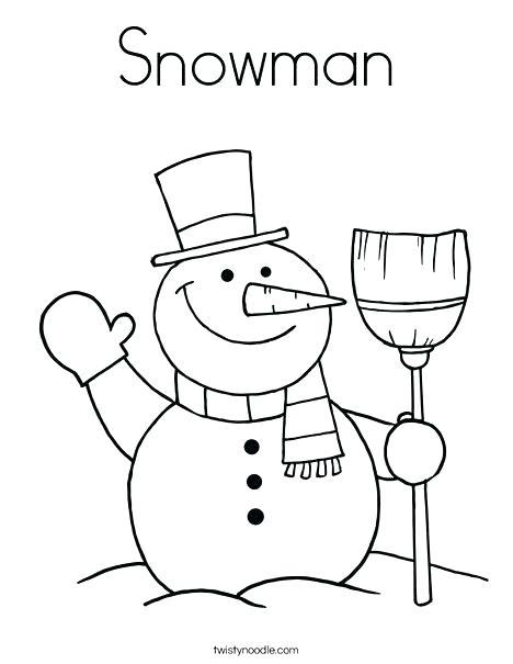 468x605 Coloring Pages Snowman Coloring Page Snowman Snowman Color Sheet