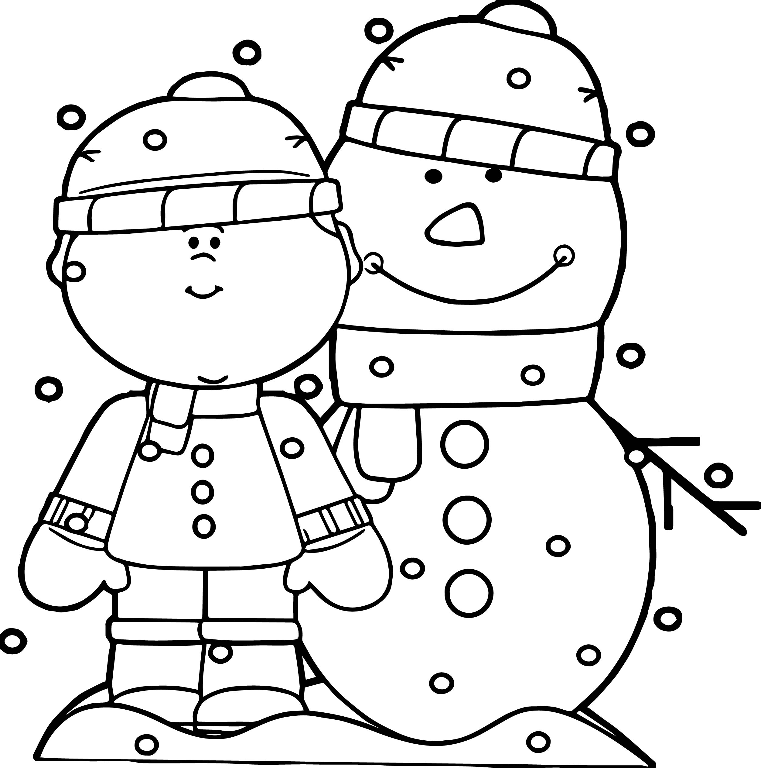 2506x2527 Snow Coloring Pages Page Image Clipart Images