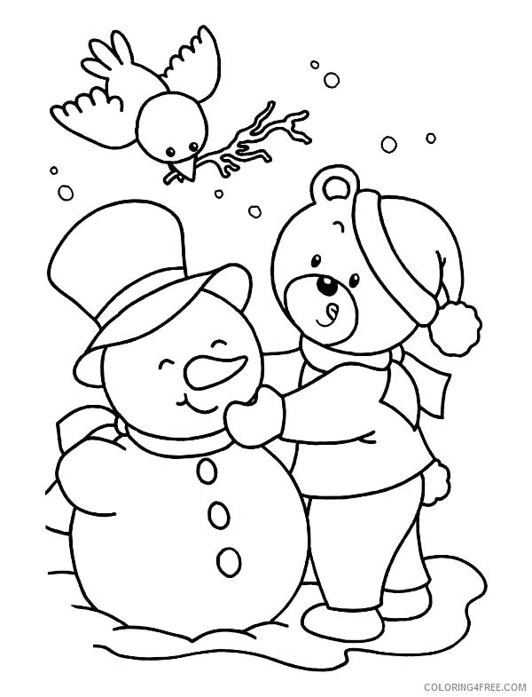 600x785 Snowmen At Night Coloring Pages As Well As The Snowman Coloring