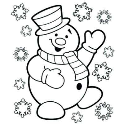 400x400 Coloring Page Of Snowman Snowman Coloring Page Color Page Snowman