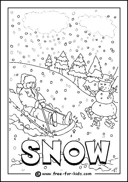 415x586 Snowy Coloring Pages Rainy Day Coloring Pages Snowy Day Colouring