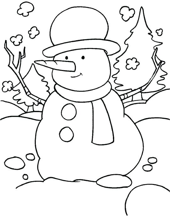 542x688 Snowy Day Coloring Page Coloring Page Ballet Pages Printable P
