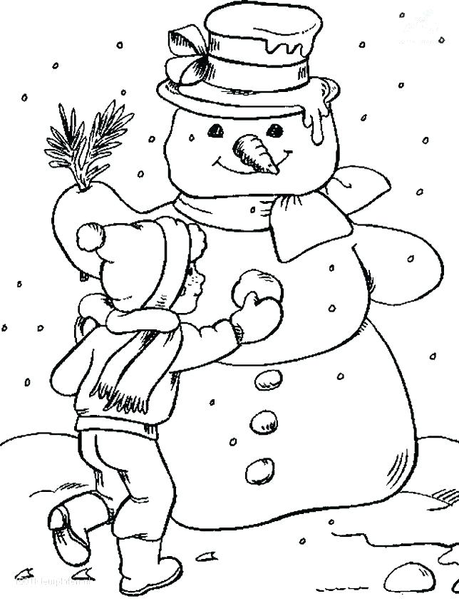 644x843 Snowy Day Coloring Page Cool Coloring Pages Soccer Clubs Logos