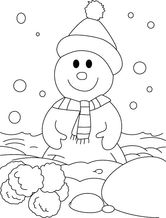 558x736 Snowy Owl Coloring Pages Snowy Coloring Pages A Happy Snowman