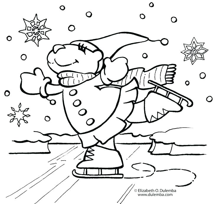 736x691 Winter Themed Coloring Pages Coloring Pages Snowy Coloring Pages