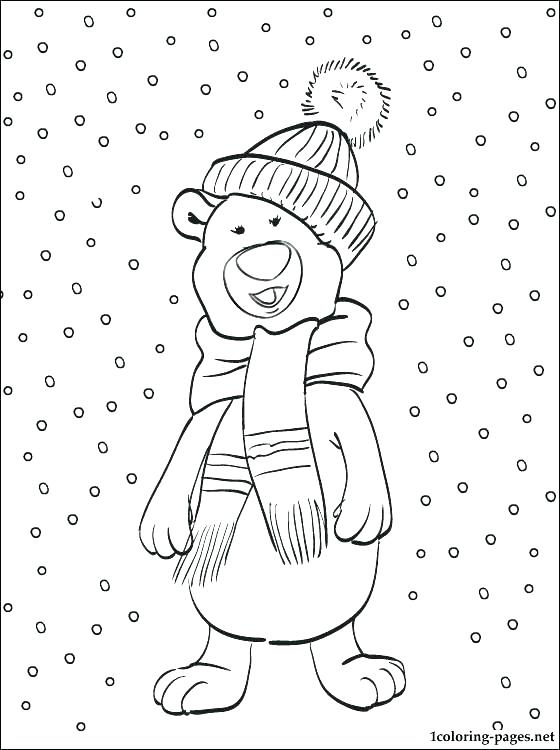560x750 Snowy Day Coloring Snowy Day Colouring Pages Snow Coloring Image