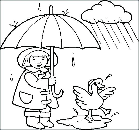 575x541 Rainy Day Coloring Pages Snowy Day Coloring Page Rainy Day