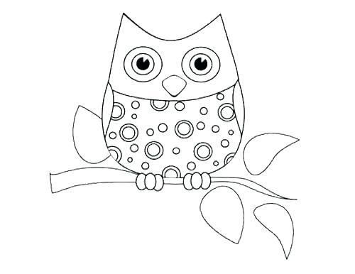 500x386 Snowy Owl Coloring Pages Snowy Owl Coloring Pages Snowy Owl