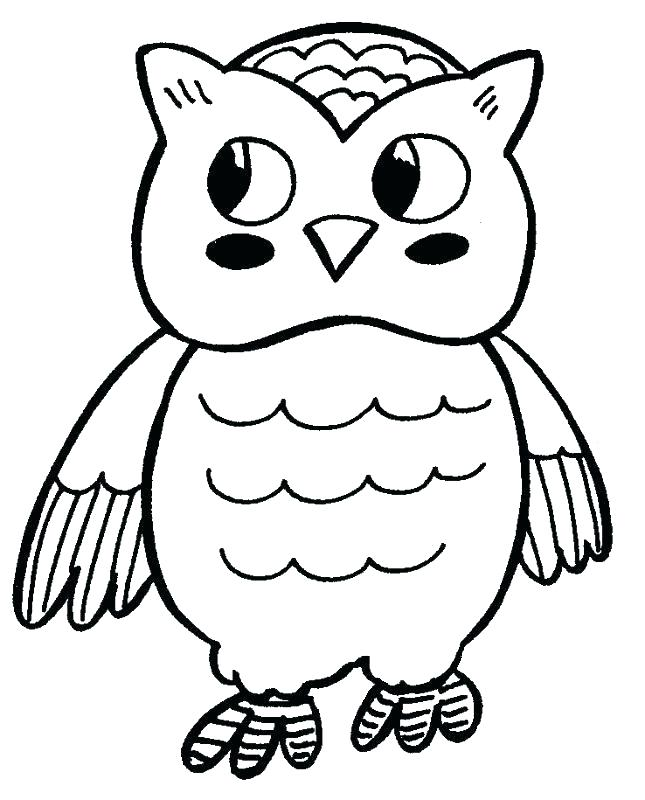 645x800 Coloring Page Of An Owl Coloring Pages Owl White Coloring Pages