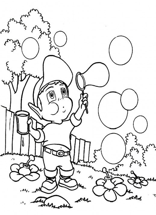 Soap Coloring Page