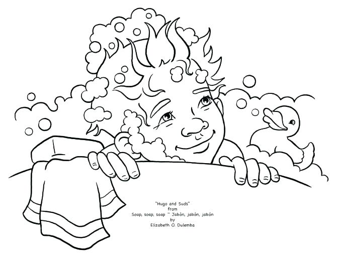 672x512 Hand Washing Coloring Pages Hygiene Coloring Pages Hand Washing