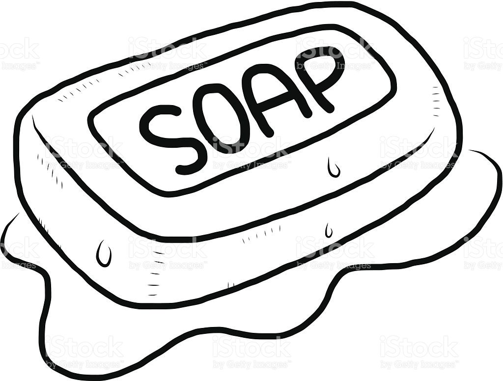 Soap Coloring Page at GetDrawings.com | Free for personal ...
