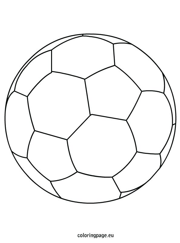 595x804 Small Soccer Ball Coloring Pages Good Page About Remodel Print