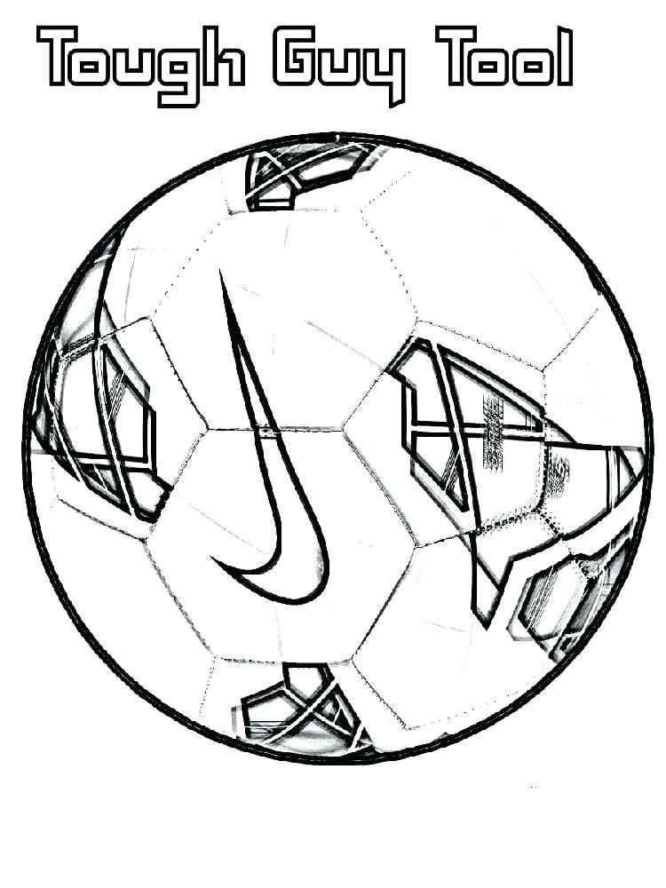 750x1000 Soccer Ball Coloring Page Coloring Pages Of Soccer Soccer Coloring