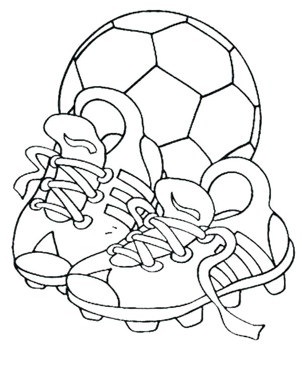 600x729 Soccer Ball Coloring Page Soccer Ball Coloring Pages Coloring