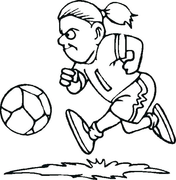 600x613 Soccer Ball Coloring Pages Best Of Soccer Ball Coloring Page