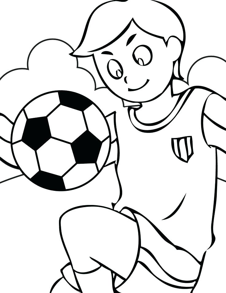 736x952 Sports Balls Coloring Pages Coloring Page Ball Soccer Ball Free