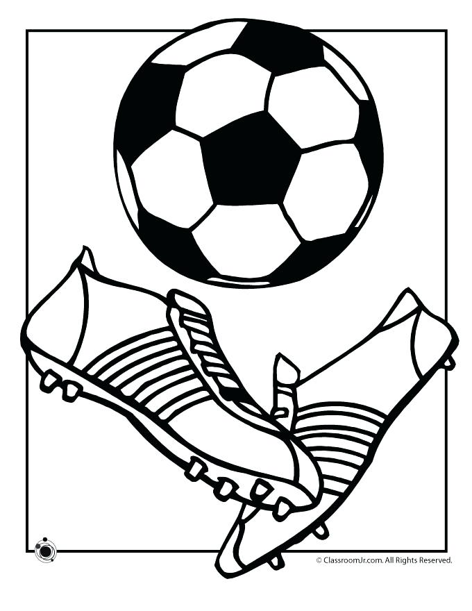 680x880 Coloring Pages Soccer Printable Soccer Coloring Pages Free