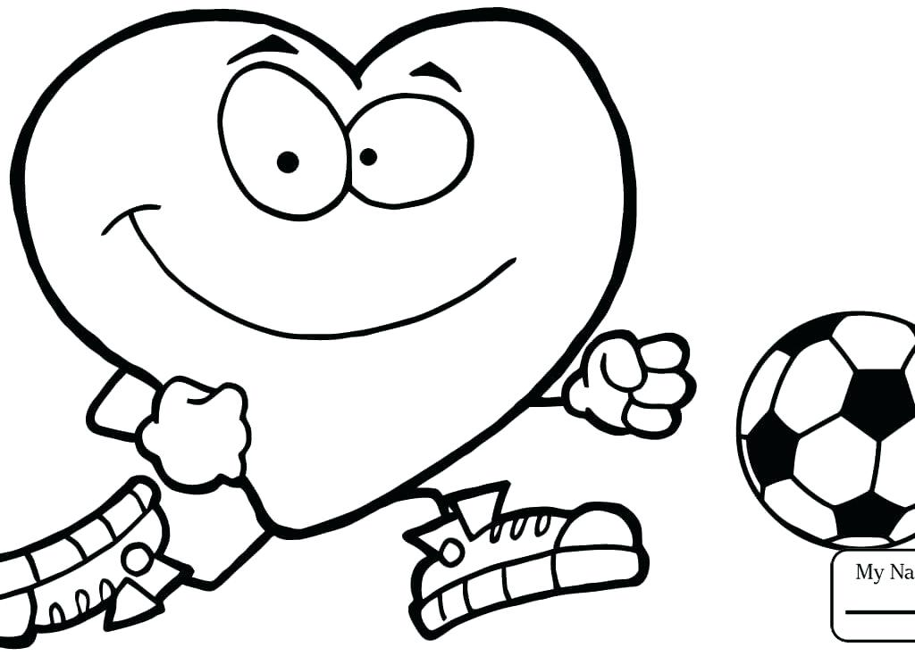 1024x735 Coloring Pages Soccer Soccer Ball Coloring Page Soccer Ball