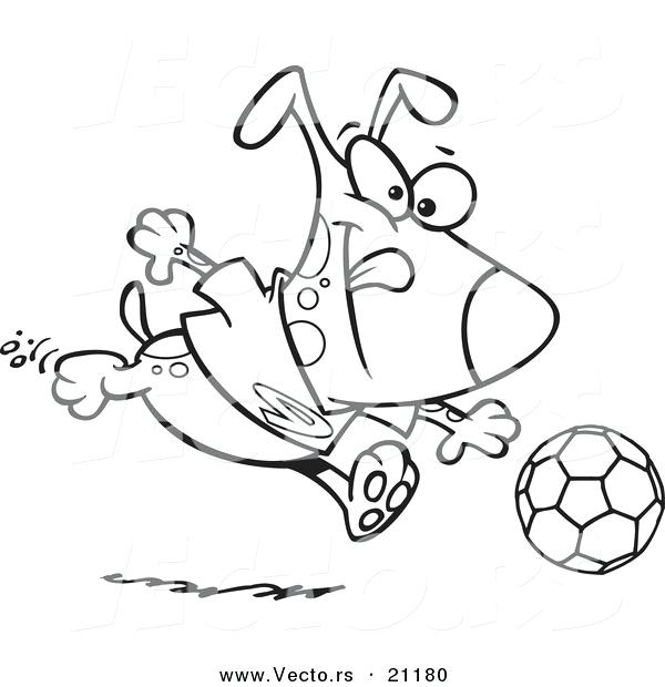 600x620 Soccer Fun Coloring Page Print A Soccer Ball And Pair Of Soccer