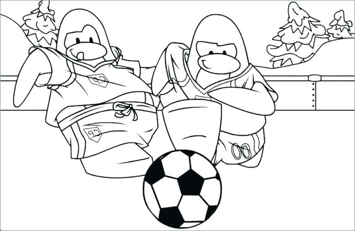 700x456 Coloring Pages Of Soccer