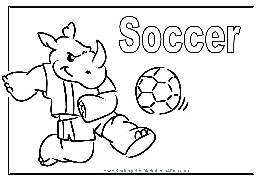 1040x720 Coloring Pages Of Soccer Coloring Pages For Boys Soccer Coloring