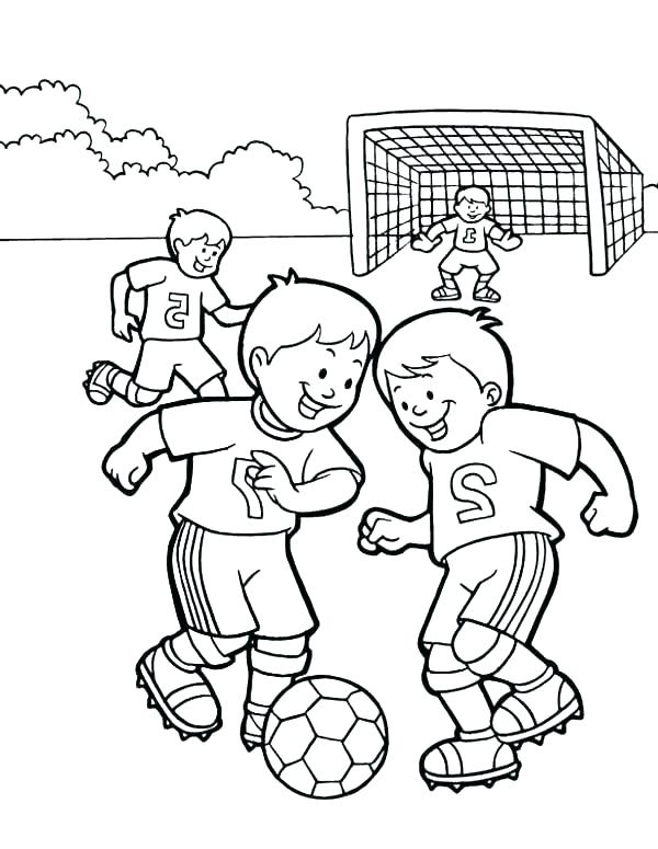 600x775 Soccer Coloring Page Soccer Coloring Pages Free Printable For Kids