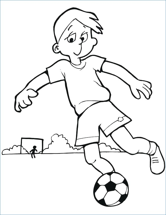 629x815 Soccer Coloring Pages Printable