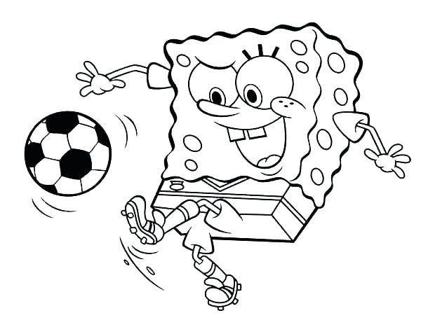 600x457 Coloring Pages Of Soccer Soccer Color Pages To Print Kids Coloring