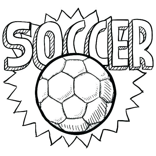 500x500 Soccer Printable Coloring Pages Soccer Printable Coloring Pages