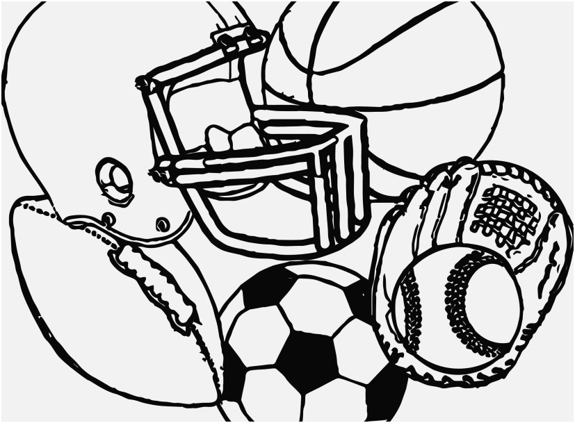 827x609 The Ideal Images Coloring Pages Printable Soccer Impressive