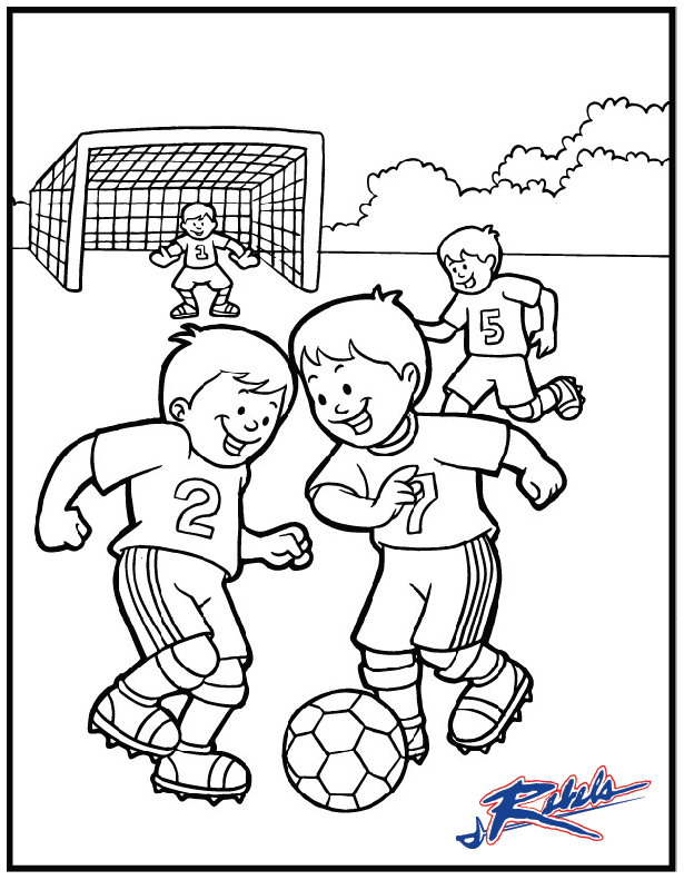 615x791 Soccer Coloring Pages